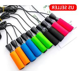 Jump Rope Gym Aerobic Exercise Boxing Skipping Adjustable Be