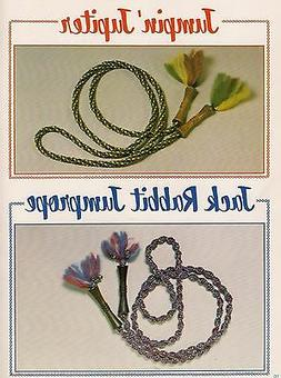 Jump Rope Pattern - 2 Variations #7256 Kids Can Macrame - Cr