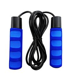Jump Rope Skipping Rope with Soft Comfortable Handle Trainin
