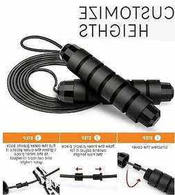 Jump Rope Speed Skipping Crossfit Workout Gym Aerobic Exerci