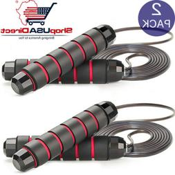 Jump Rope Speed Skipping Fitness Adjustable Exercise Boxing
