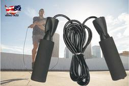 Jump Rope Speed Skipping Fitness Exercise Gym Boxing Adjusta