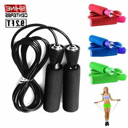 Jump Rope Speed Skipping Workout Gym Aerobic Exercise Boxing