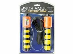 Jump Rope w/ Counter & Non-Slip Handles Fitness Accessories