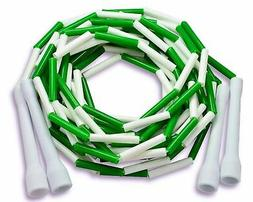 Buy Jump Ropes Beaded Double Dutch Jump Rope, Green/White