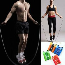 Jump Ropes with Counter Sports Fitness Adjustable Fast Speed