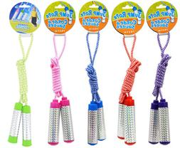 Jump Ropes with Holographic Handles for Children, Ages 6+ 7-