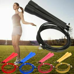 Jump Skipping Rope Length Adjustable 3m High Speed Steel Wir