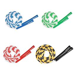 Kids Jump Ropes Children Soft Plastic Beaded Segmented Skipp