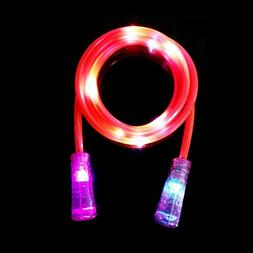 Kids Toys LED Skipping Jump Rope Fitness Exercise Color Chan