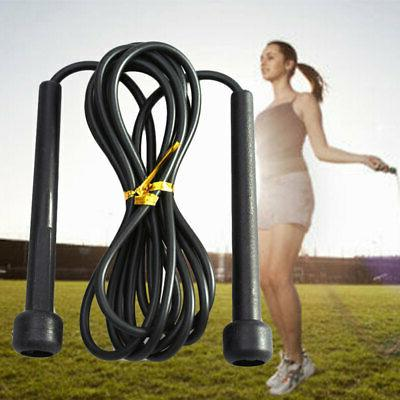 Adjustable Speed Wire Skipping Jump Rope Fitness Sport Exerc