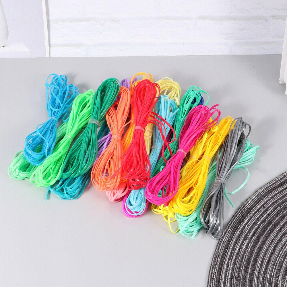 20pcs Braided Colorful String Ropes for Jewelry