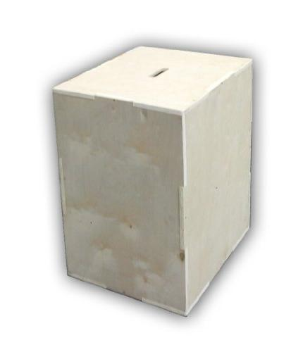 CFF 3 - N - 1 Wood Puzzle Plyo Box - 20/24/30 inch and Doubl