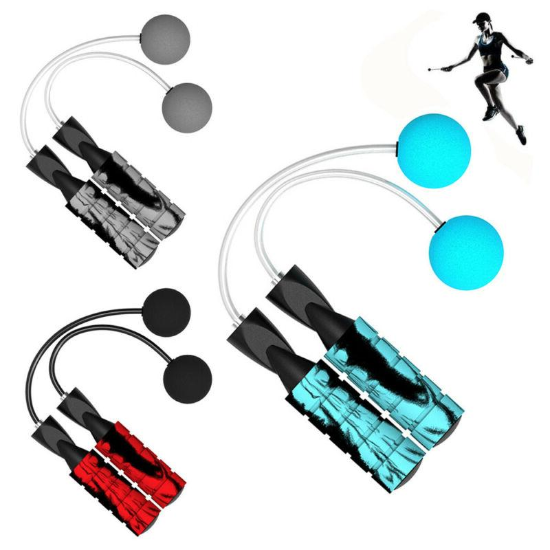 Adjustable Jump Cordless Skipping Bodybuilding Weighted Exercise