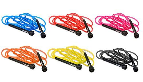 Garage Fit PVC Cardio Fitness - Jump Rope Kids and Great Jump Exercise