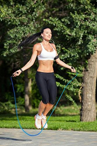 Garage PVC Cardio Fitness Jump Rope Both Kids Adults - Great Exercise