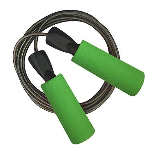 YZLSPORTS Adjustable Steel Carrying by Factor Ergonomic,Durable,Easy to Adjust Premium Jump Rope All Heights and