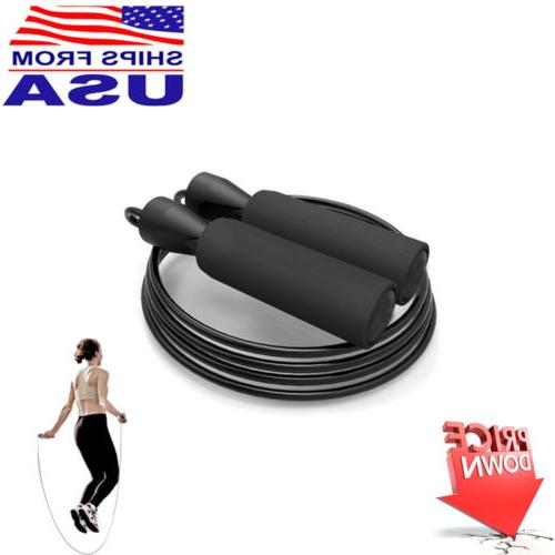 aerobic exercise boxing skipping jump rope adjustable