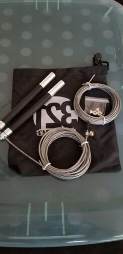 321 STRONG Aluminum Speed Jump Rope Amazing Cardio Workout F