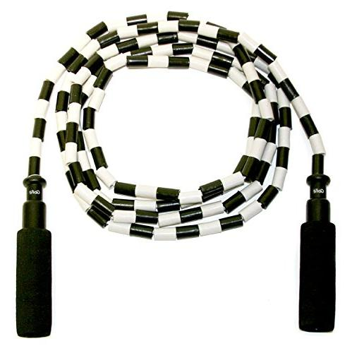 Adjustable, Segmented, Beaded Rope- Jumping for Adults and