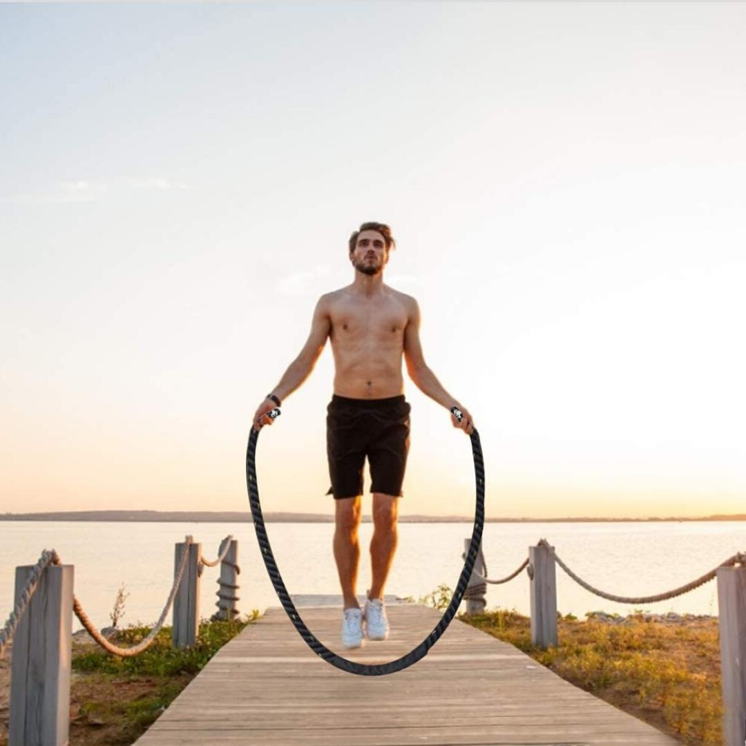 Fitness Jump Skipping Workout Power