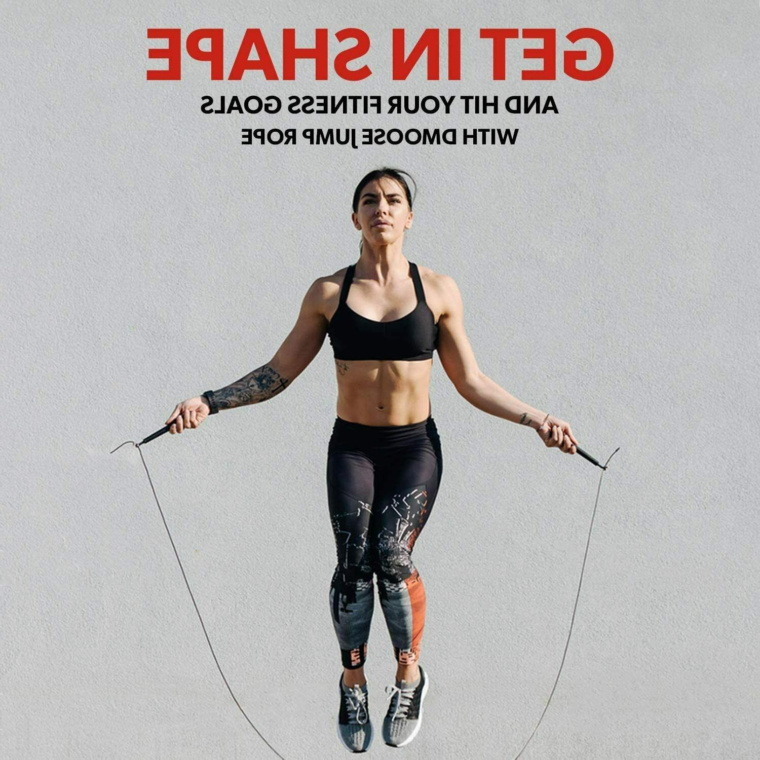 Fitness Jump Length, Rope for and Women