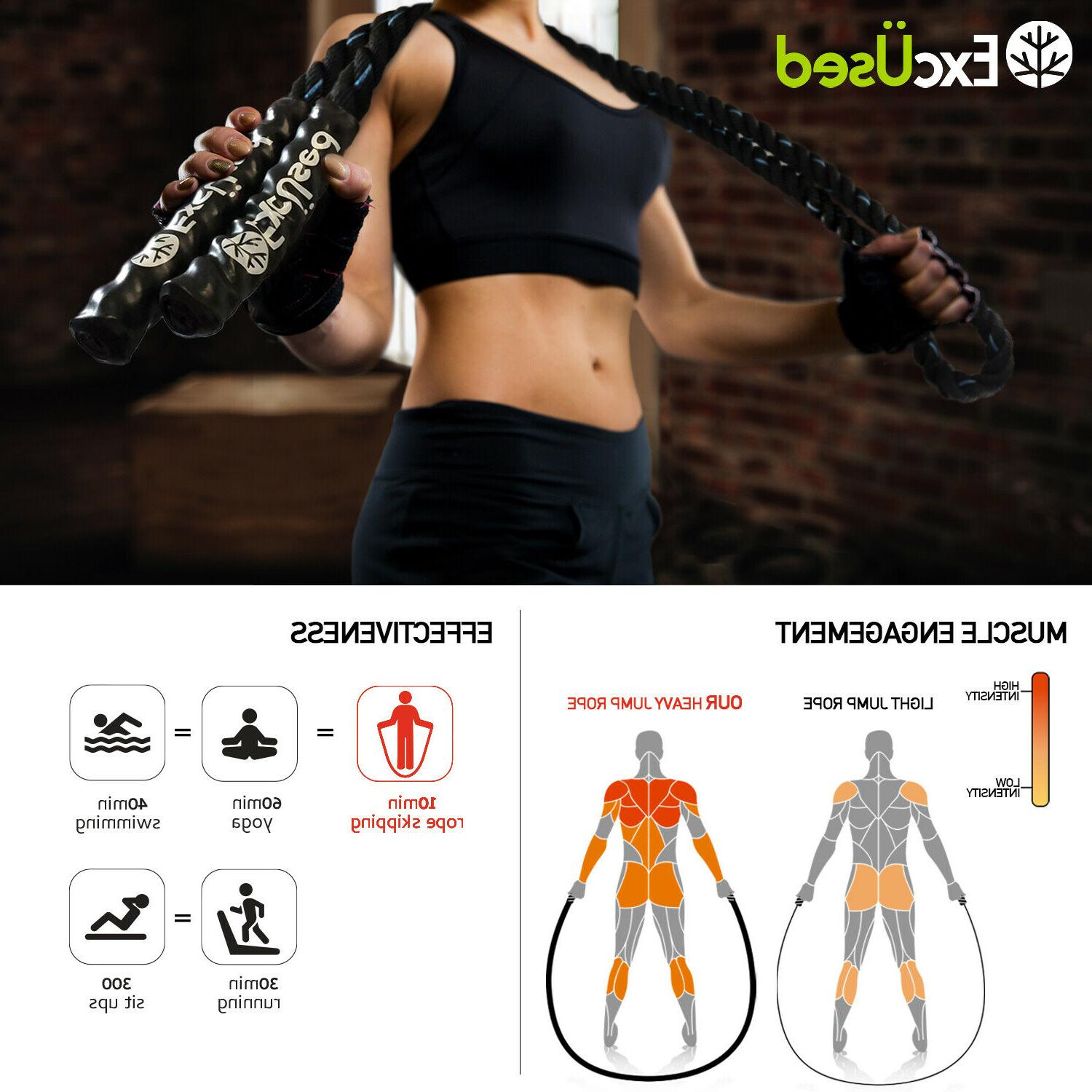 Heavy Training Jump Rope Women Total Out