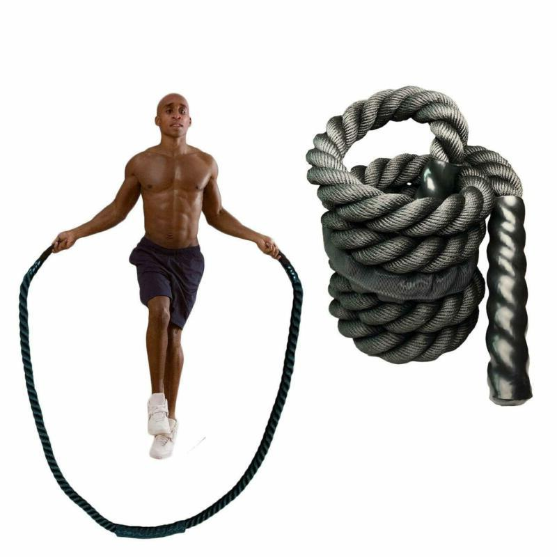 Yzlsports Heavy Rope Skipping Workout Battle Wo