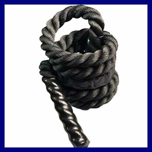 YZLSPORTS Weighted Rope Battle Ropes Men Women T