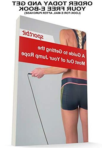 SPORTBIT Jump Rope Speed Skipping with Bag Excercise e-Book