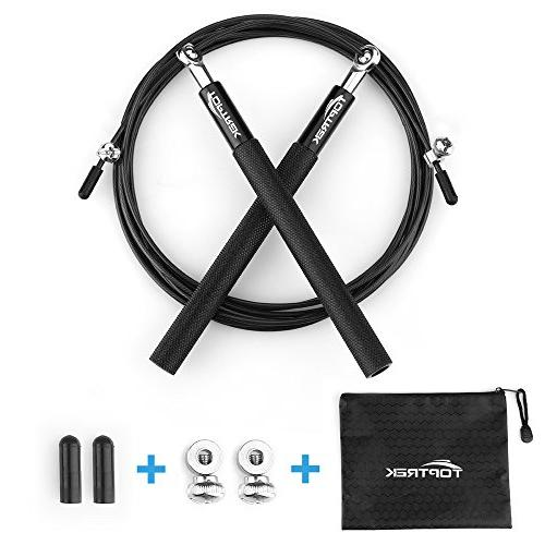 jump rope adjustable steel cable