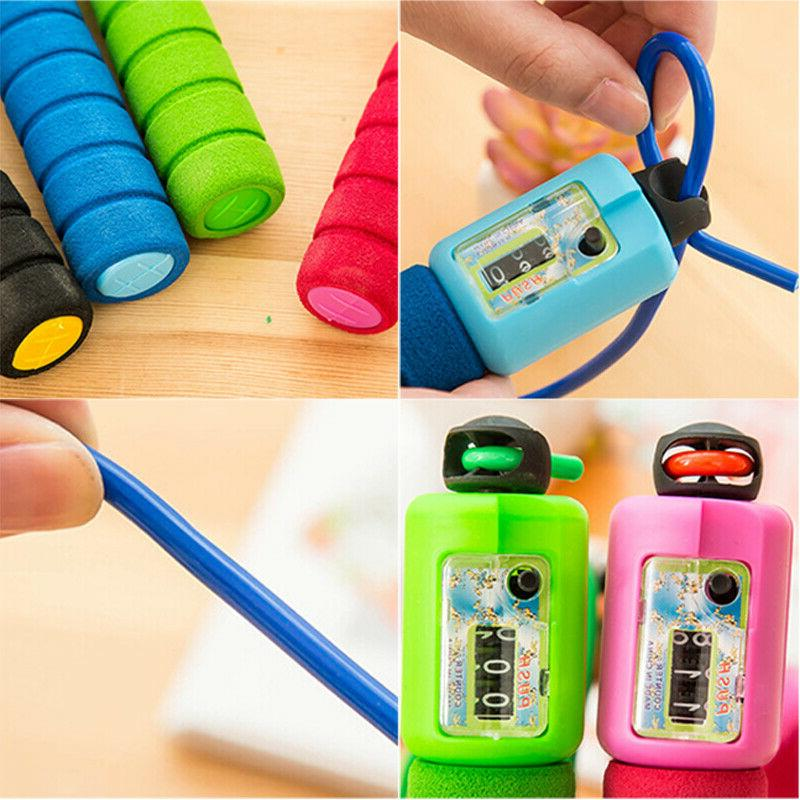Jump Rope Counter Fitness Exercise Adults