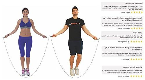 FitSkuad.com Rope – Features Ball-Bearing 6 That Foster Extreme Speed Jumping - a Results Ebook