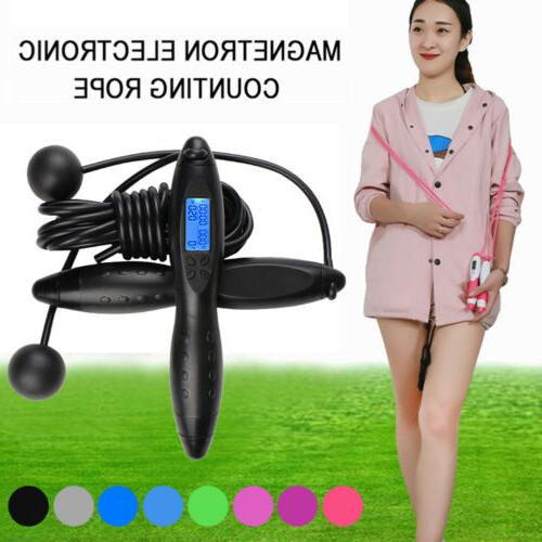 Digital Rope Skipping Electronic Fitness Jump Sports