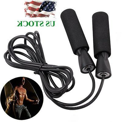 10ft skipping jump rope adjustable bearing speed
