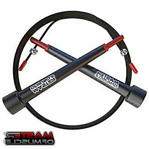 new 2019 double unders jump rope adjustable