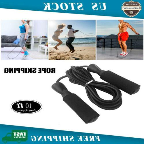 new jump rope speed skipping fitness adjustable