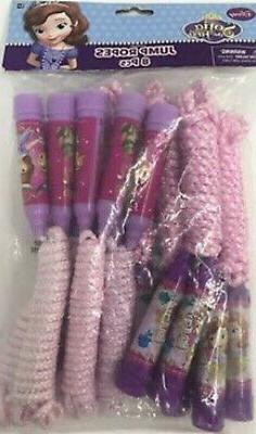 PRINCESS SOFIA THE FIRST  birthday party supplies JUMP ROPES