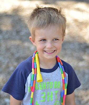 BuyJumpRopes Segmented Rope - Rope for Kids with and