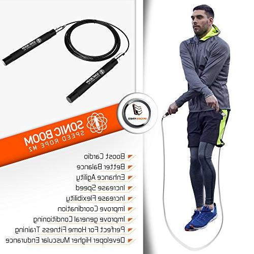 Sonic Boom M2 Speed Design Degree with Cables for Workout, &