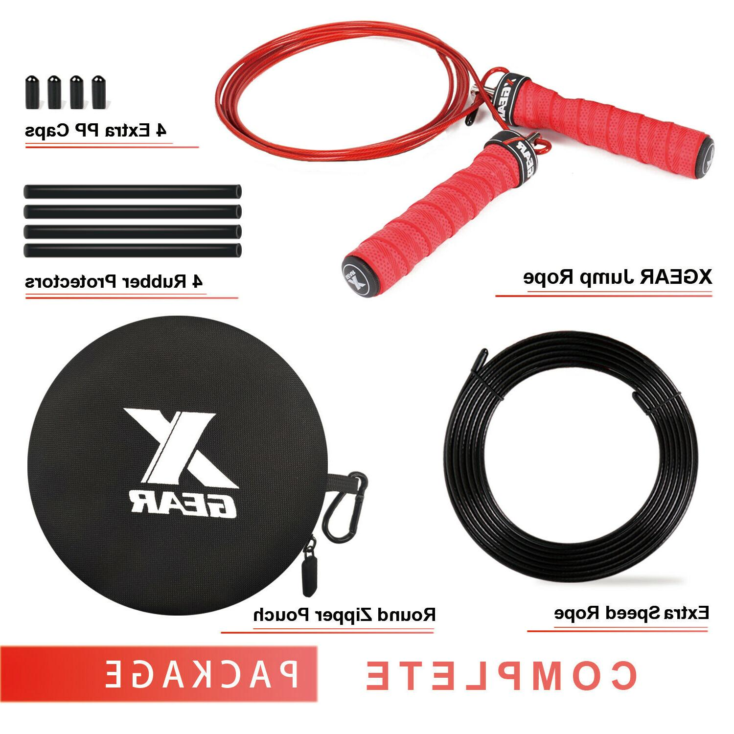 Speed Jump Rope- Handle -2 Rope-Fit for & Women