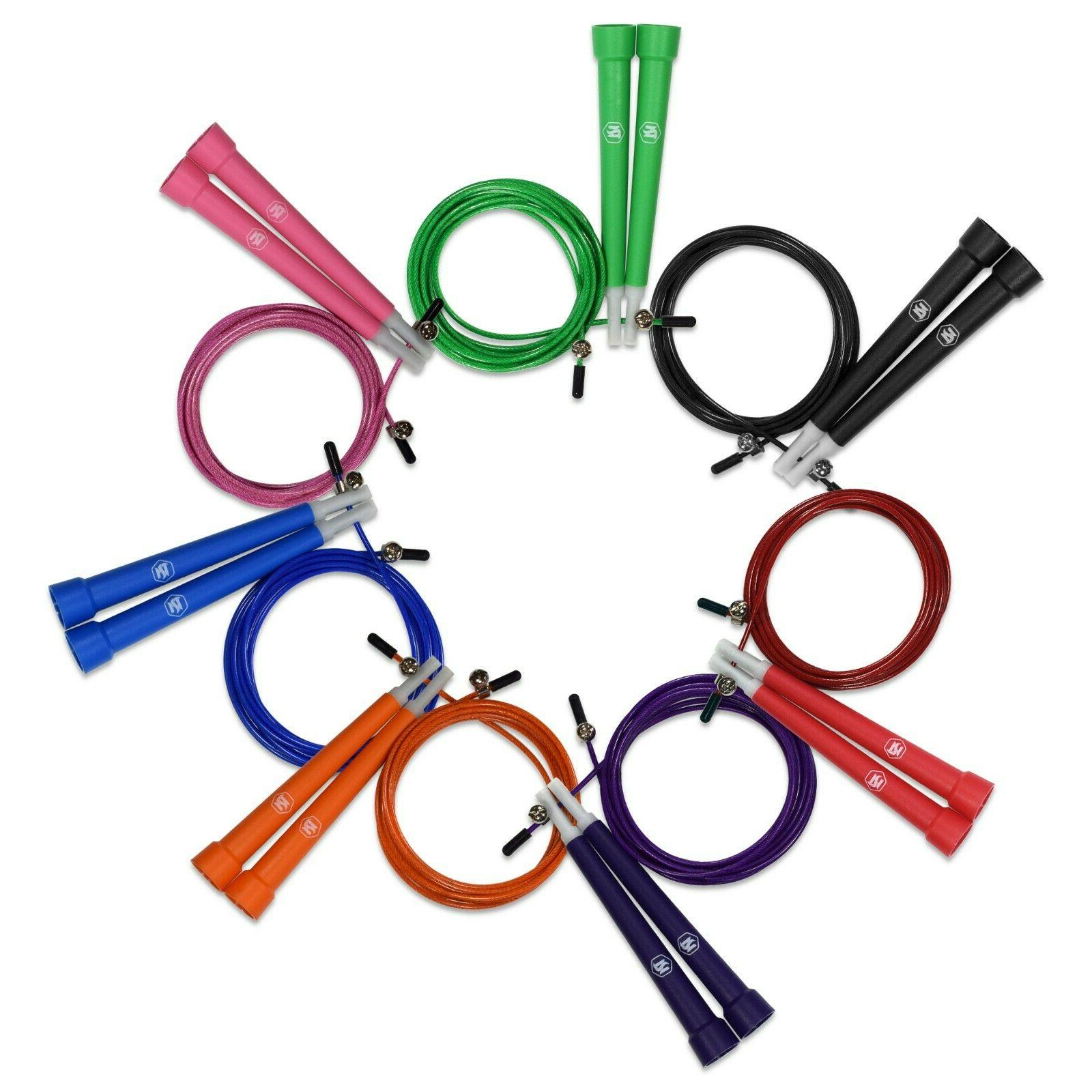 speed jump rope fully adjustable with carrying