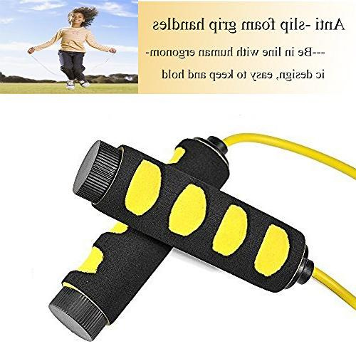 2 Speed Jump Ropes, Ponydash &Adjustable Durable Fitness Jumping for Women Men Grips Handles MMA,