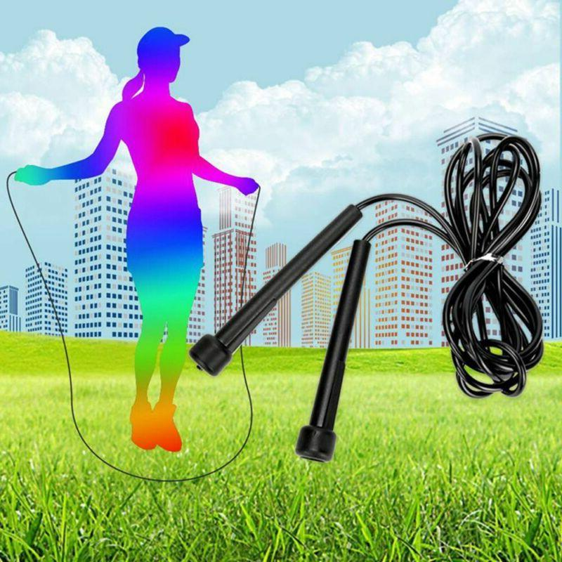 Sports Skipping Training Fitness Jump Rope Adjustable Jump R