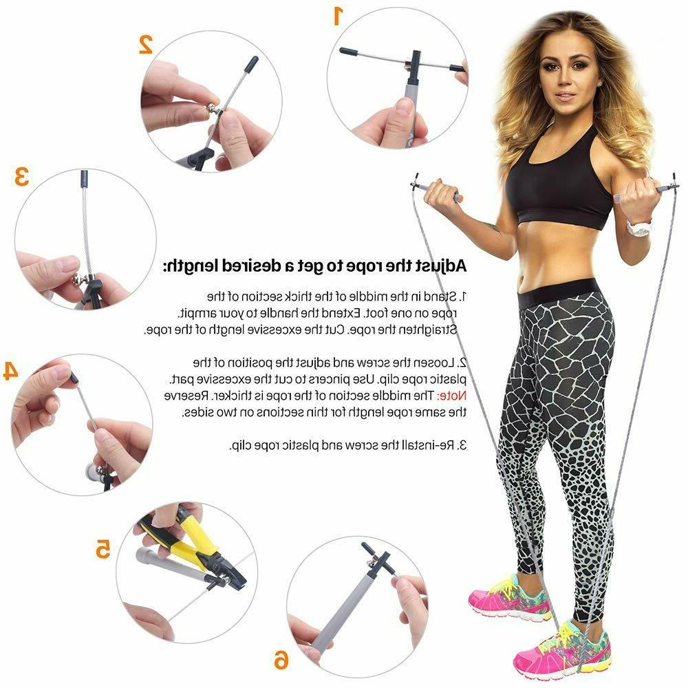 Sports Jump Rope Women Men Kids,Weighted Skipping