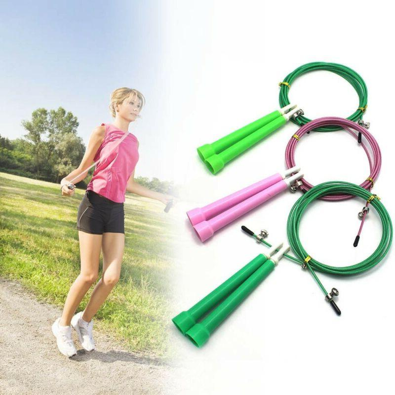 xFitness Jump Rope Aerobic Skipping Weighted Wire