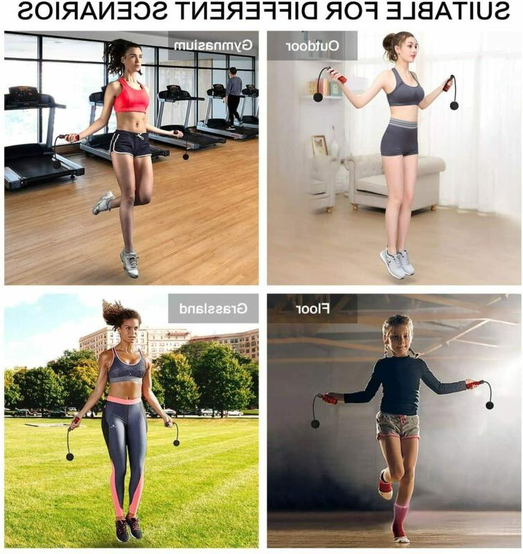 Adjustable Jump Rope Cordless Skipping Bodybuilding Exercise