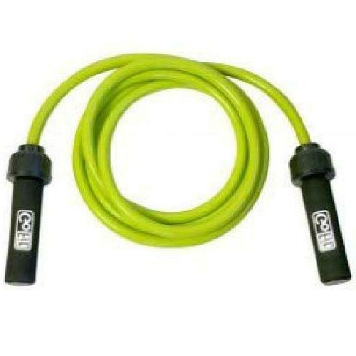 GoFit Weighted Resistance Jump Rope - Heavy, Adjustable Fitn