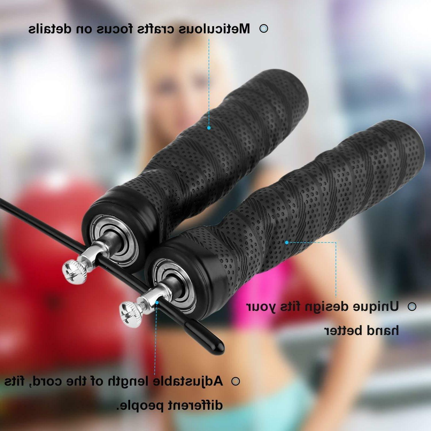 WORKOUT JUMP ROPE Skipping Aerobic Exercise Boxing