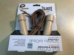Everlast LEATHER 9.5 ft 2.9 m JUMP ROPE - HIGH QUALITY HEAVY